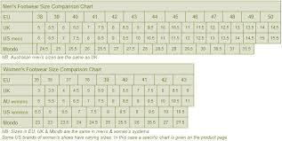 33 Methodical Uk Size Us Size Chart