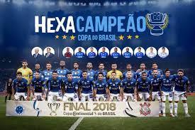 Cruzeiro é o dono da Copa do Brasil