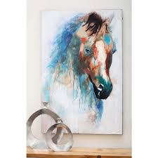 mystic horse canvas art