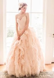 peach wedding dress. Peach Wedding Dresses 2017
