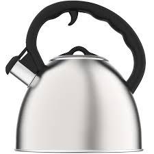 amazoncom vremi whistling tea kettle for stovetop   quart tea