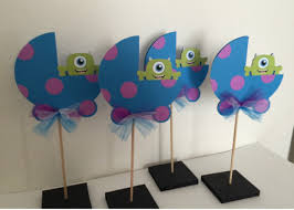 Monster Inc Baby Shower Decorations 17 Best Ideas About Monsters Inc Centerpieces On Pinterest