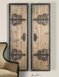 71 set of two wood and wrought iron panels wall art rustic tuscan contemporary ebay on rustic wood panel wall art with 71 set of two wood and wrought iron panels wall art rustic tuscan