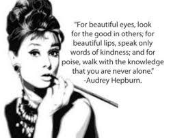 Quotes About Beauty Audrey Hepburn Best of Quote On Beauty By Audrey Hepburn The Ultimate Fundraiser Blog