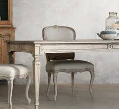 the eloquence gustavian dining table gorgeous weathered surface gives this piece an authentic antique look in oak driftwood finish