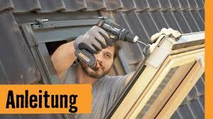 Rollladen Nachrüsten Am Dachfenster Hornbach Meisterschmiede