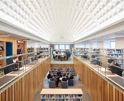 library lighting. Projects Smythe Library Renovation, Tonbridge School, Kent, England Lighting