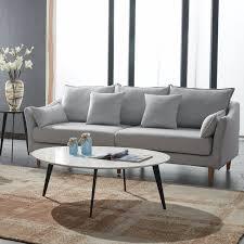 Modern Home Sofa Designs Hot Item Simple Design Modern Home Furniture Fabric Sofa Kg669