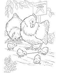 Small Picture Free Online The Crowing Rooster Colouring Page Kids Activity