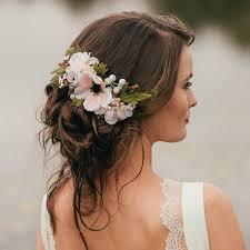 Annabelle Flower Hair Comb Flower Hair Hair Combs And
