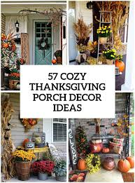 57 Cozy Thanksgiving Porch Décor Ideas - DigsDigs