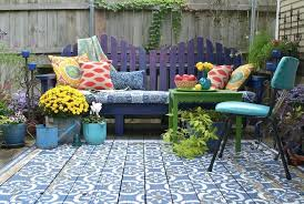 outdoor rug for deck view in gallery wood patio painted with stencils area rug look outdoor outdoor rug