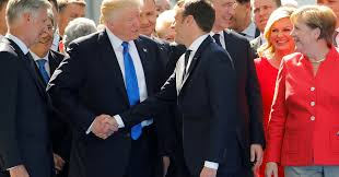 Image result for trump handshake