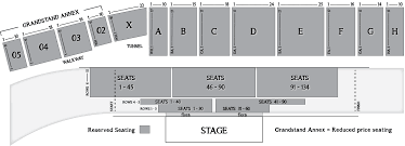 Timonium Fairgrounds Concert Seating Chart Grandstand Events Concerts In Frederick Md The Great