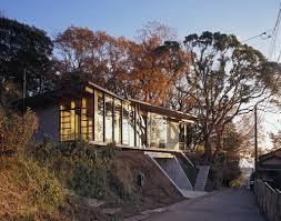Modern Japanese Houses Modern Japanese Houses With Modern Garage In The Basement Design