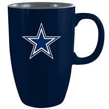 Tervis nfl dallas cowboys primary logo tumbler with emblem and navy lid 16oz mug, clear. Dallas Cowboys Tall Coffee Mug