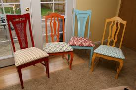 reupholstering a dining chair. Cool Reupholster Dining Chairs On How To Recover Room Reupholstering A Chair H
