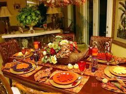 Thanksgiving Table Decor With Autumn Theme