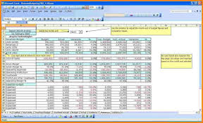Sample Budget Template For Non Profit Organization Bud On Budget ...