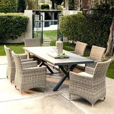 patio furniture clearance. 7 Piece Patio Furniture Living All Weather Wicker Dining Outdoor Clearance E
