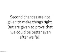 Second Chance Quotes New THIS Is WHY I'm DETERMINED NOT To Fail This Time Around I Made A