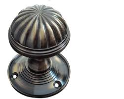 jedo collection fluted mortice door knobs polished chrome satin chrome black nickel
