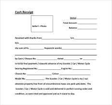 Delivery Receipt Form Template Interesting 44example Of A Cash Receipt Proposal Letter
