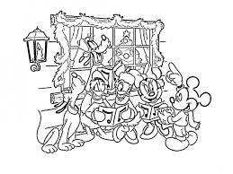 Disegni Da Colorare Disney Natalizi Canto Di Natale Disegni Da