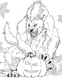 Creepy Coloring Pages Scary Monster Printable Coloring Pages Free