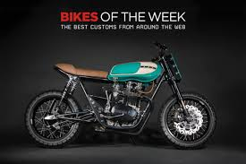 custom bikes of the week 5 november 2018 the best cafe racers scramblers