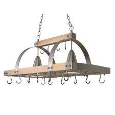 diy pot rack chandelier wide pot rack chandelier elegant designs 2 light brushed nickel accents kitchen wood pot rack with downlights wrought iron pot rack