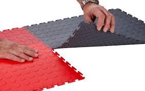 Interlocking Rubber Floor Tiles Kitchen Flooring Ideas Grey Artistic Square Rubber Floor Tile Smart Homes