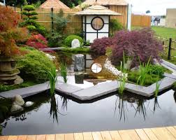 Lawn & Garden:Fresh Japanese Garden Landscaping Idea For Small Space With  Natural Materials Super
