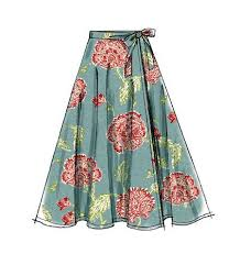 Wrap Skirt Pattern Amazing Misses' Skirt Pattern For Beginners Sew Crazy Pinterest Button