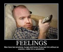 The male emotions Meme | Slapcaption.com | Emotions | Pinterest | Meme via Relatably.com