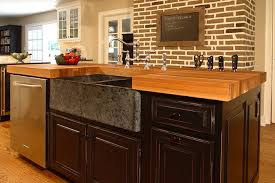 wood countertop sealed with the original oil finish