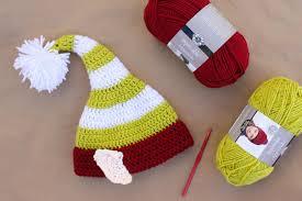 Elf Hat Pattern Adorable Santa's Helper Free Crochet Elf Hat Pattern With Ears