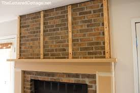 how to cover a fireplace with drywall