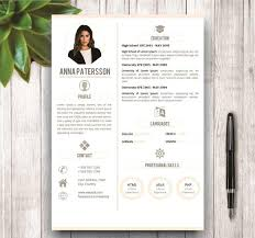 Minimalist Resume Template Inspiration Minimalist Resume Template 48 Pages Resume Templates Creative Market