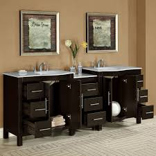Bathroom Lavatory Sink Silkroad Exclusive 89 Double Lavatory Sink Cabinet Bathroom