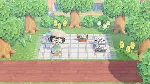 あつ 森 ピクニック シート
