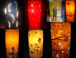 Hand Made Lampshades Alluring Handmade Paper Lampshadeslumiere All About  Belgaum Inspiration Design