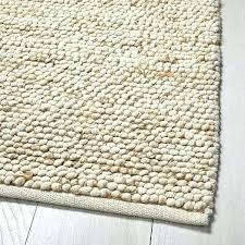 wool and jute rug mini pebble natural ivory chunky reviews hand woven bohemian beige multi jute ribbed loop pile natural wool amp rug chunky