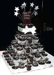 Ideas For Male 40th Birthday Celebration Black And White Dessert