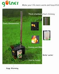 Outdoor Wood Stove Designs Bbq Camping Outdoor Cold Rolled Steel Wood Burning Stove Wood Burning Stove With Water Jacket Wood Burning Stoves And Fireplace Buy Outdoor Cold