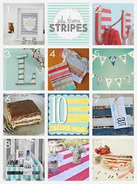 i d love for you to pin our collage below check out my diy striped towel hooks and then go see all the other fabulous projects by some of my friends