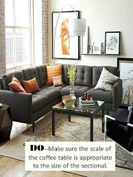 area rug with sectional and sofa how to style a
