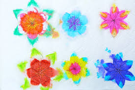 Paper Make Flower A Paper Flower For Kids To Make Magical Water Blossoms