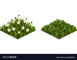 Grass background tile Full Isolated Grass Tile In Pixel Art Vector Image Vectorstock Isolated Grass Tile In Pixel Art Royalty Free Vector Image