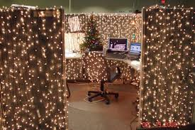 holiday decorations for the office. Superb Office Holiday Decorations Christmas Cubicle Lights Twinkling For The C